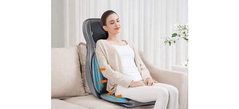صندلی ماساژ و حرارت دهنده ی کاشن