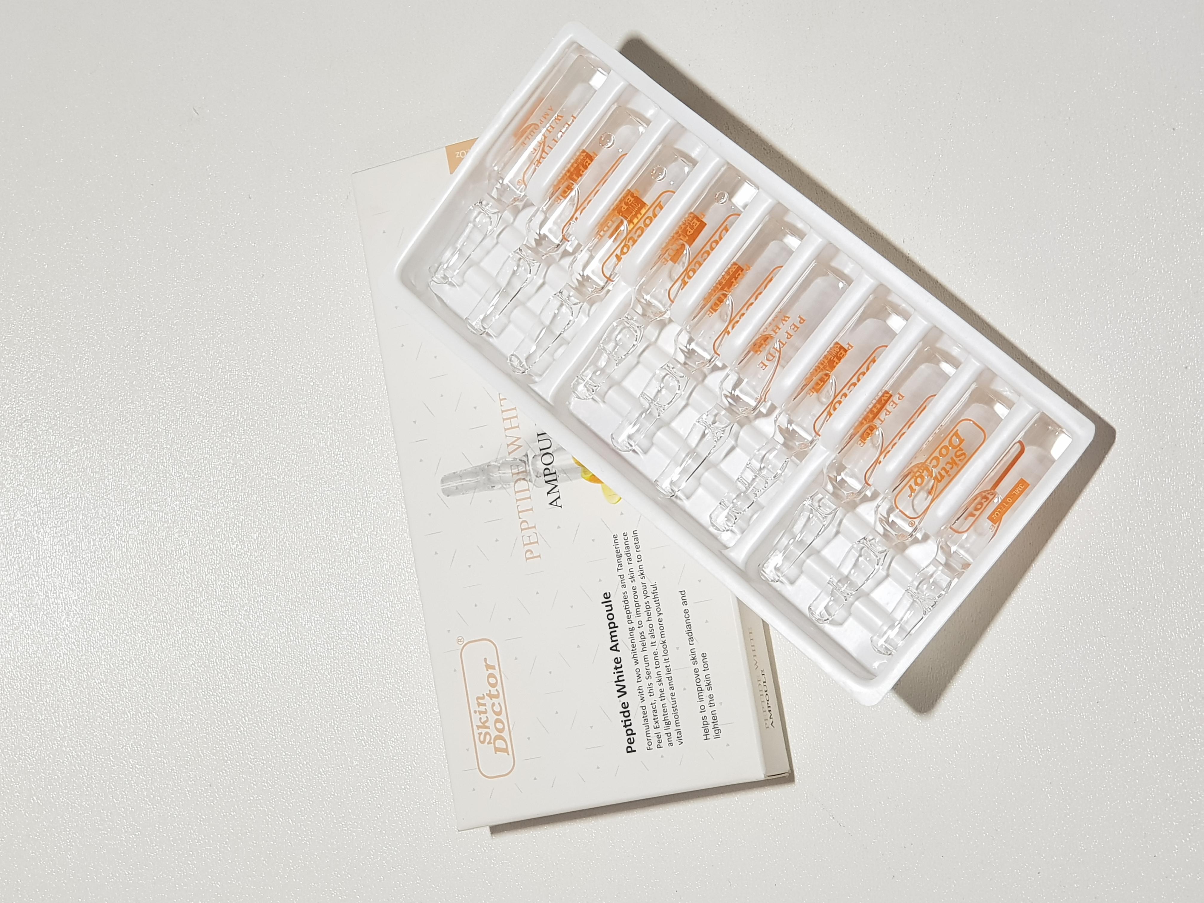 امپول- سفید- پپتید- عصاره- پوست -نارنگی-