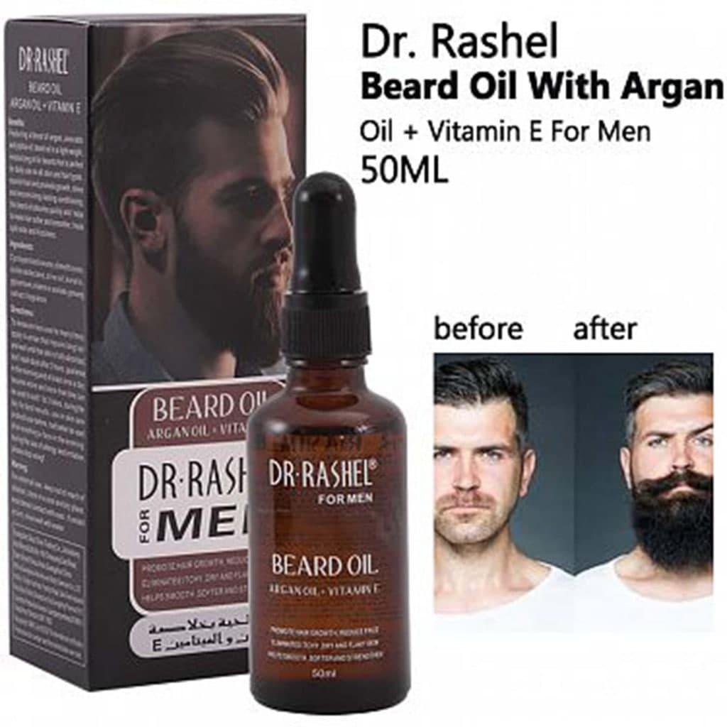 روغن ارگان محلول رشد سریع موی سر و ریش 1DR. RASHEL