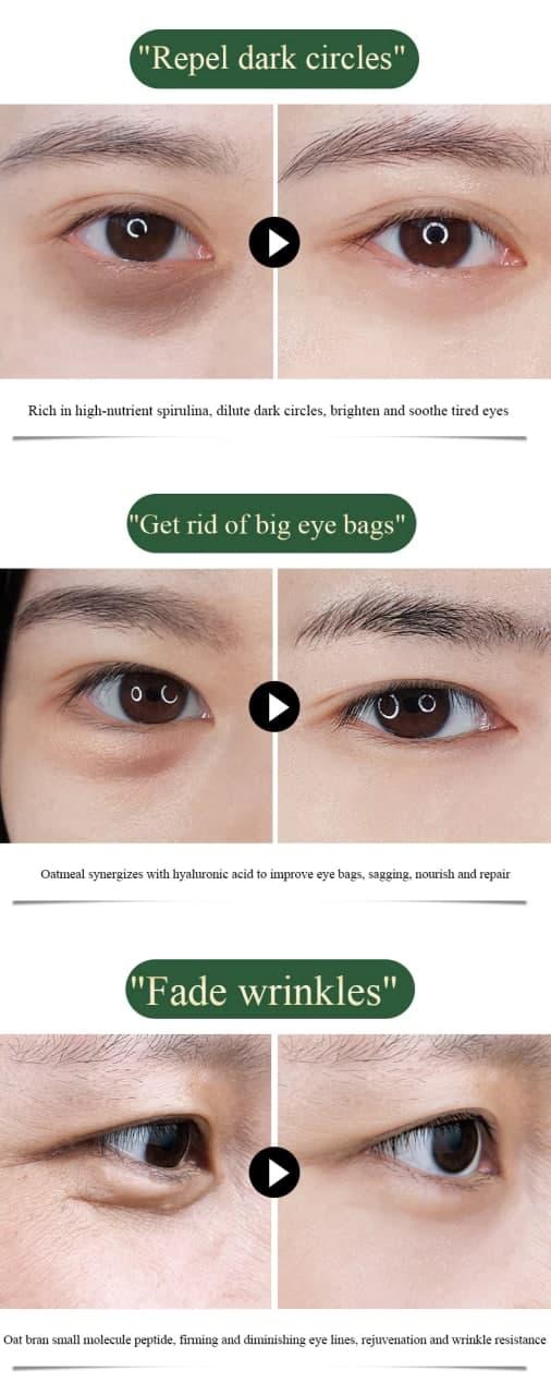 ماسک- زیر- چشم- روشن- کننده- اسپیرولینا