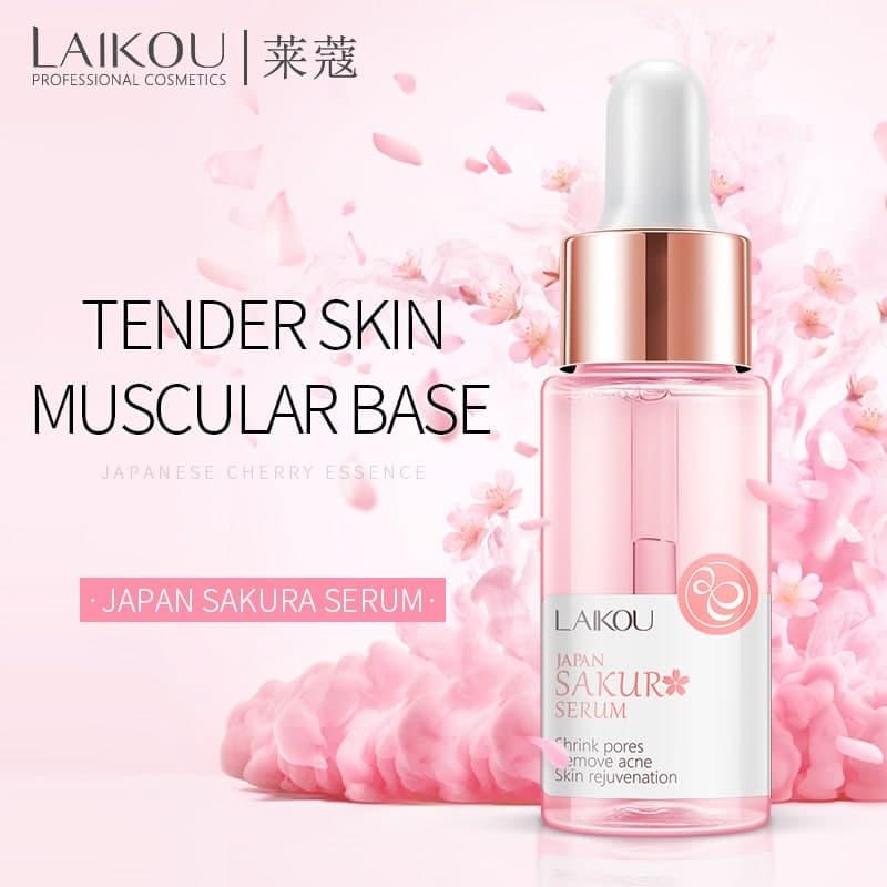 سرم روشن کننده صورت شکوفه گیلاس