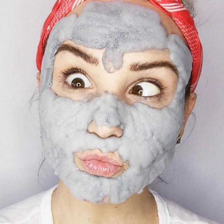 ماسک-لیفتینگ-صورت-حبابی-امینو-اسید