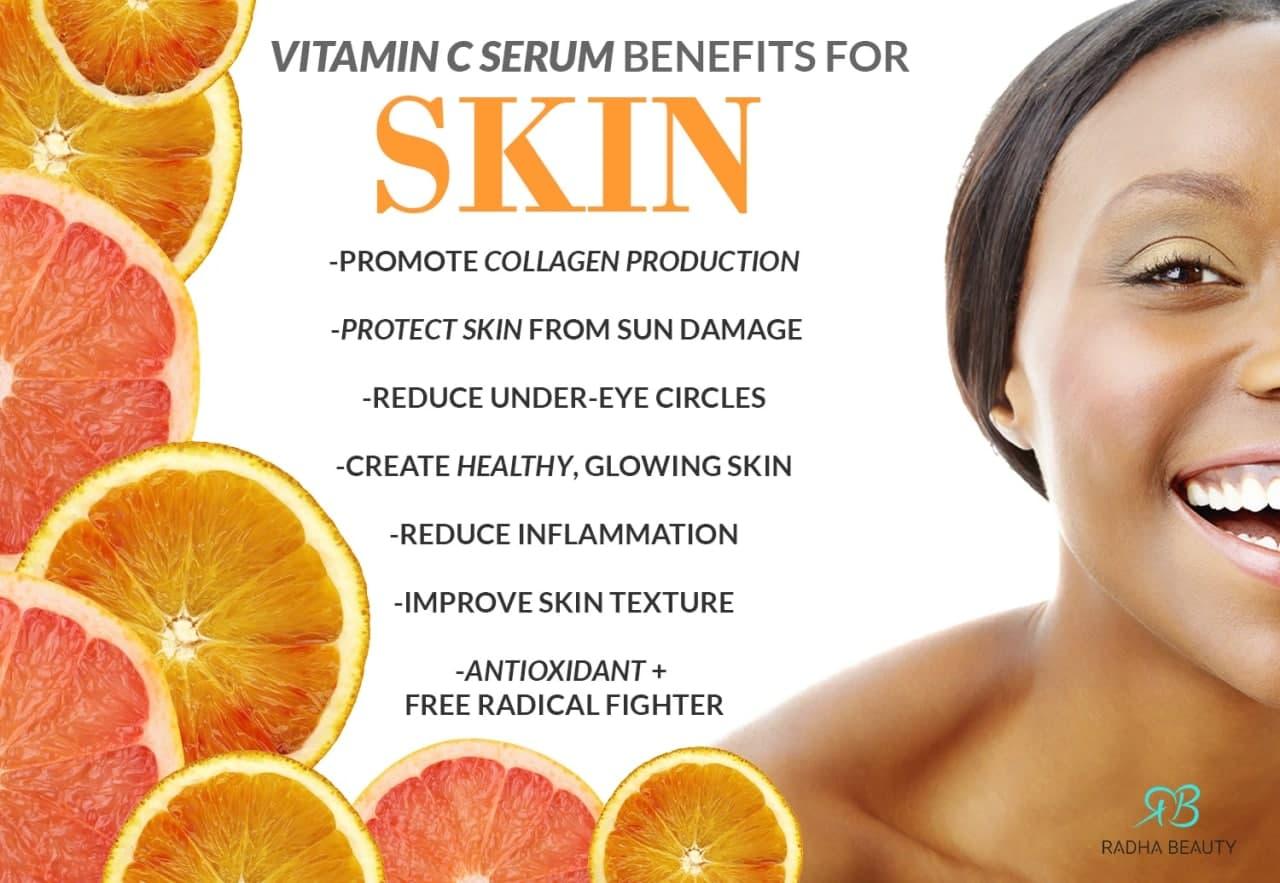 خواص-و-فواید-ویتامین-سی-برای-پوست