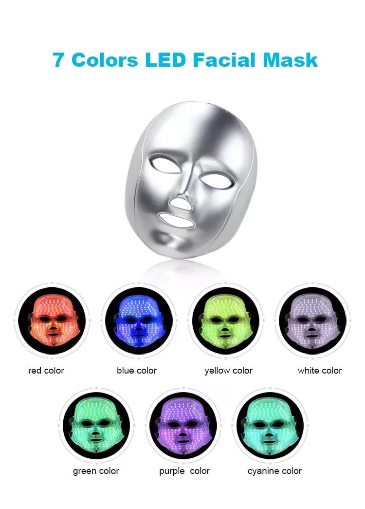 ماسک-ال-ای-دی-دستگاه-هیدروفیشیال-8-کاره