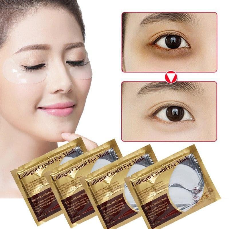 ماسک-کلاژن-دار-کریستالی-زیر-چشم